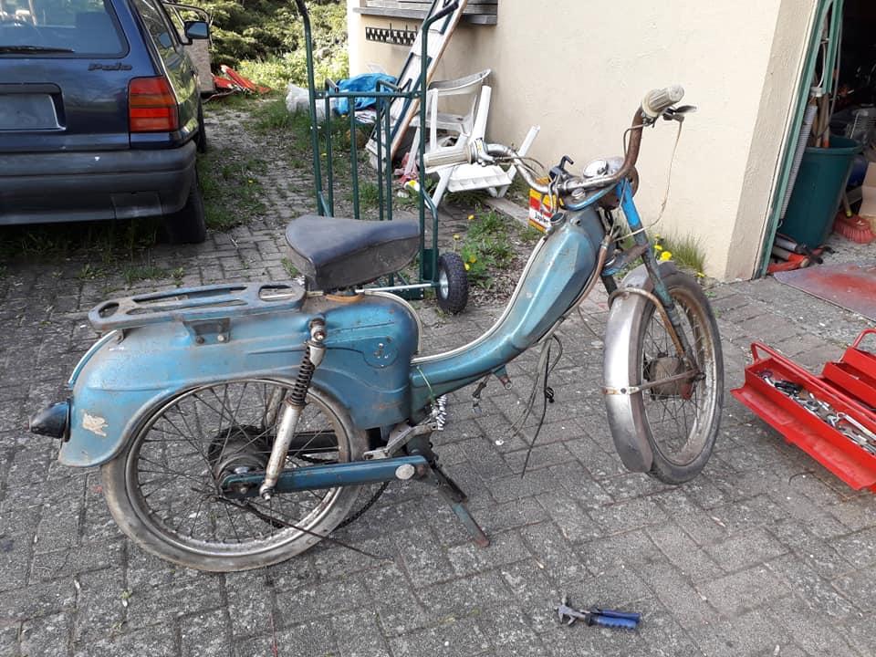 Remise en route Flandria Primus 3 vitesse 1962 Photo_13