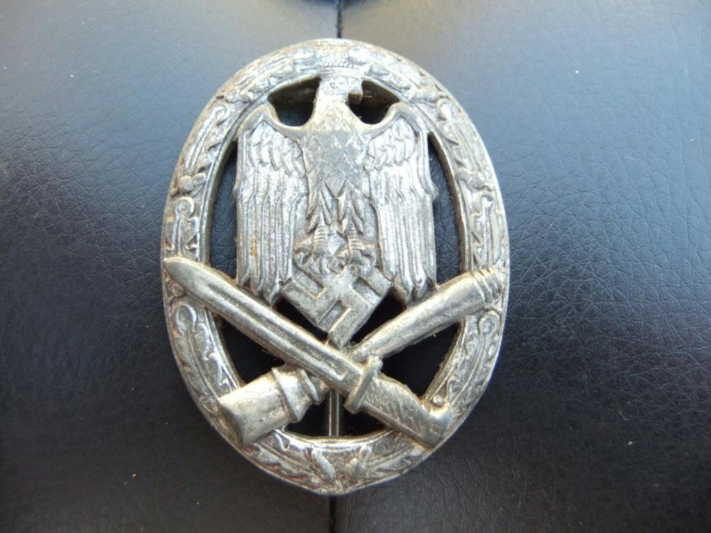 Badge allemand assaut général Dscf5789