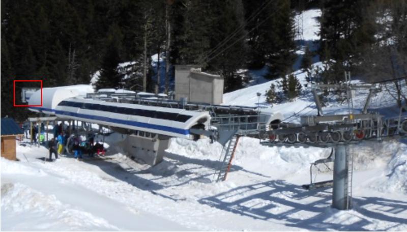 Gares télésièges débrayables à couverture basse Rail10