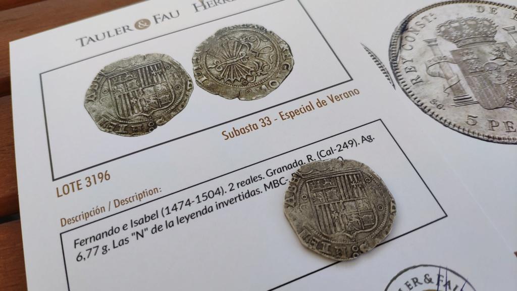 2 reales Reyes Católicos Granada Img_2054