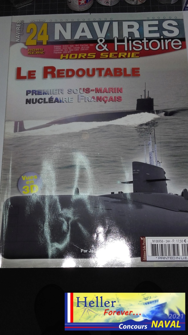 Sous-marin Nucléaire Lanceur d Engins SNLE Le REDOUTABLE 1/400ème Réf 57075 - Page 2 Navire10