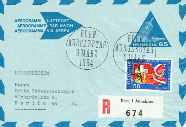 Aerogramm nach SLH Nr. 105 Aerogr10