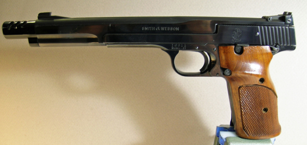 """For Sale:1959 S&W 7 3/8"""" M41 1959_m10"""
