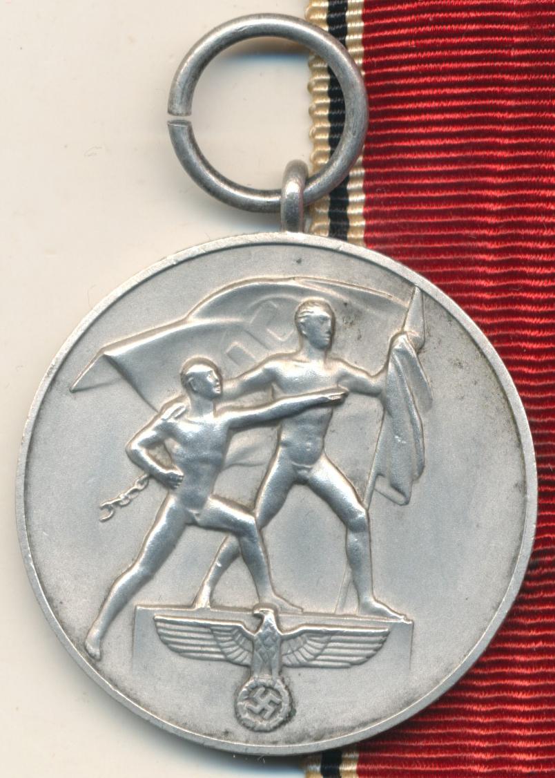 médaille du 13 mars 1938 15854110