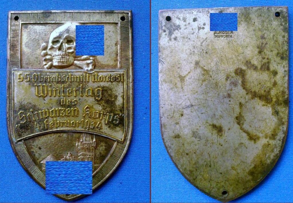 Badge allemand à identifier 2019-059