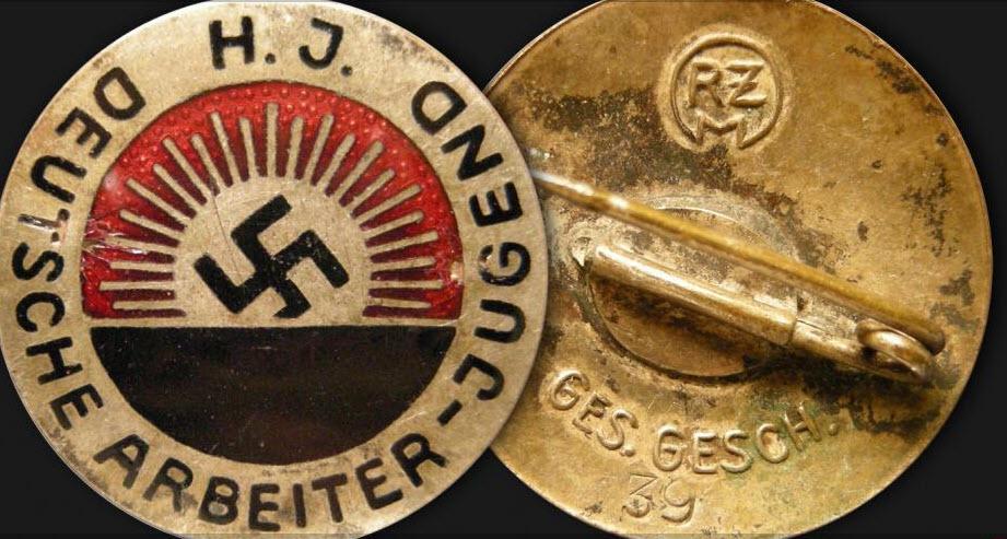 Badge Deutsch arbeiter Jugend 2019-207