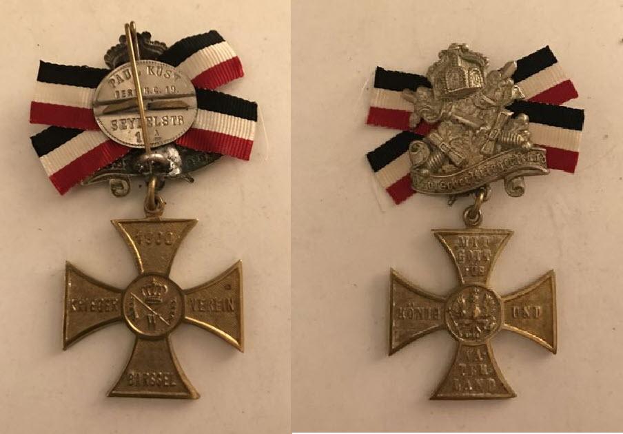 médailles allemandes   2020-100