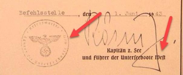 Ubootkriegsabzeichen avec diplome ! 2020-106
