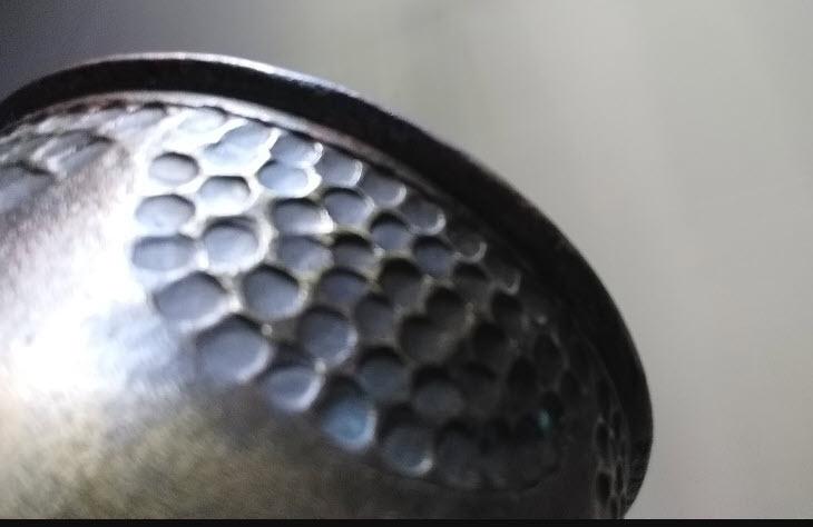Douille d'obus sculptée par un poilu lors de la 1ère guerre mondiale 2020-120
