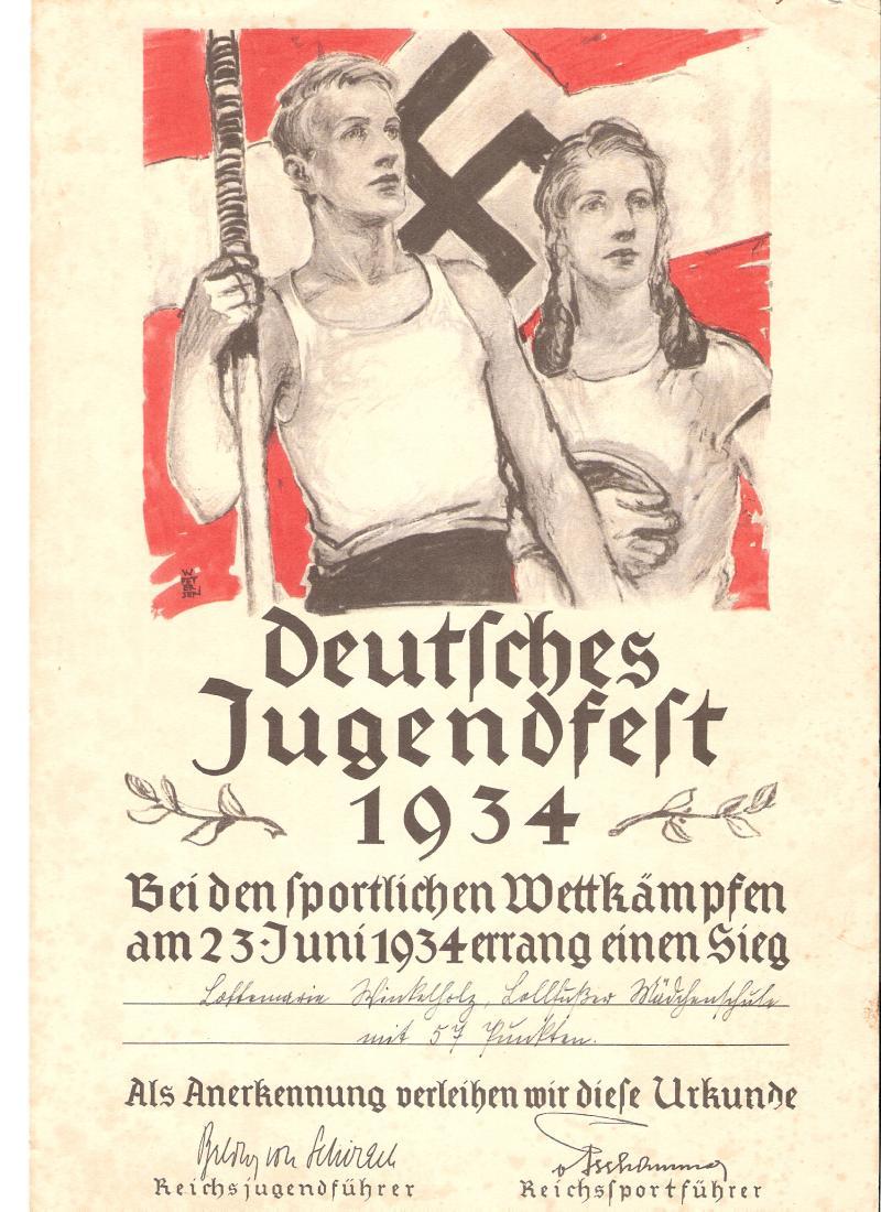 Insigne allemand ww2 a identifier Deutsc10