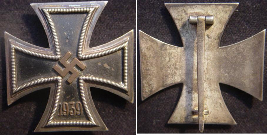 Croix de fer de 1ère Classe 2ème GM Ek139b10