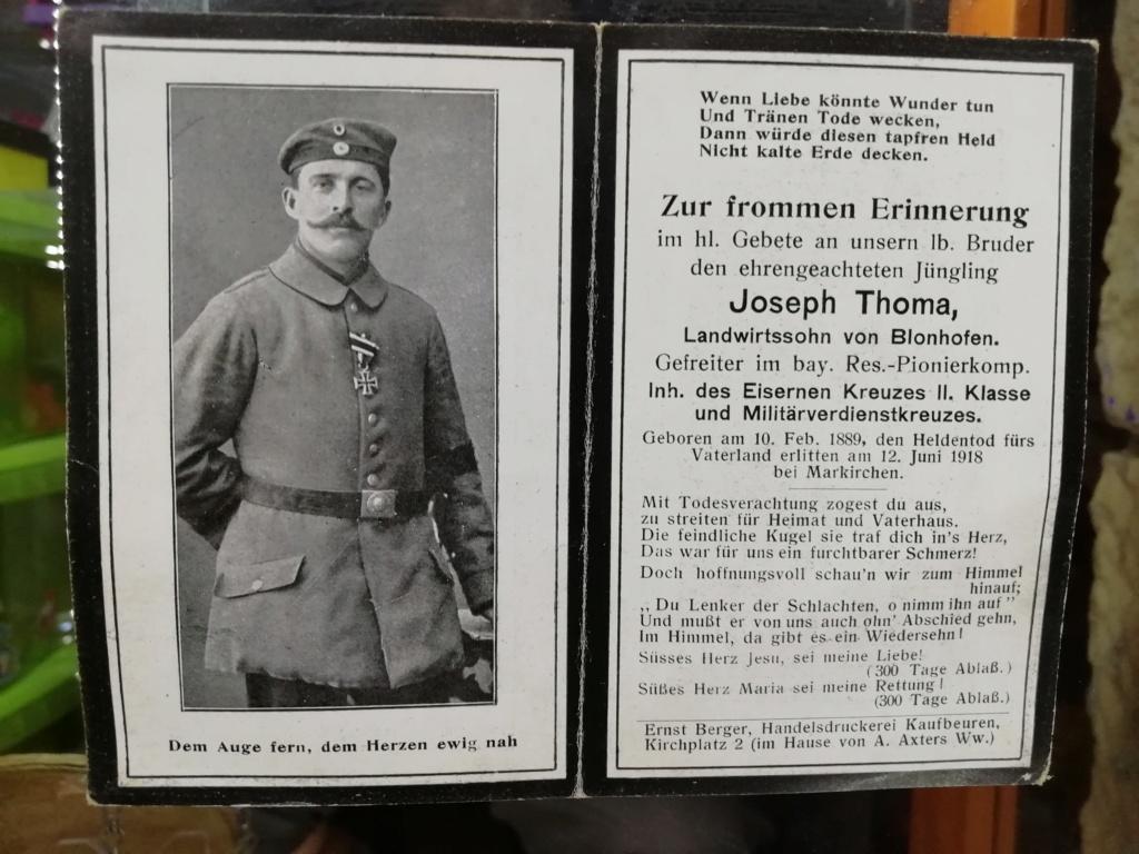 Avis de décès soldat allemand 14-18  - Page 2 Img_2141