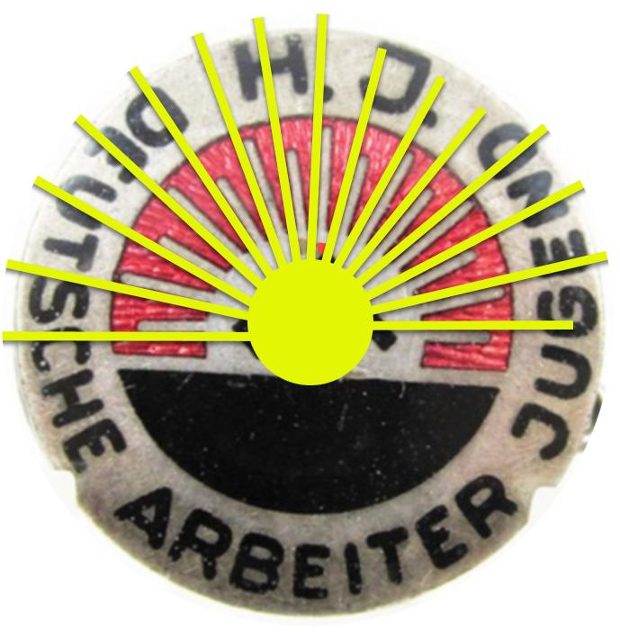 Insigne HJ 1er type et medailles sport Sans_t10