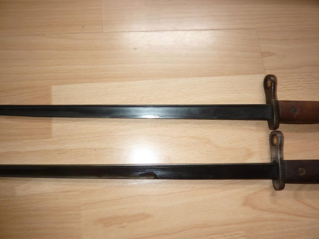 """QQ baionnettes Mauser Belge M1916 """" Gendermerie"""" Gendar12"""