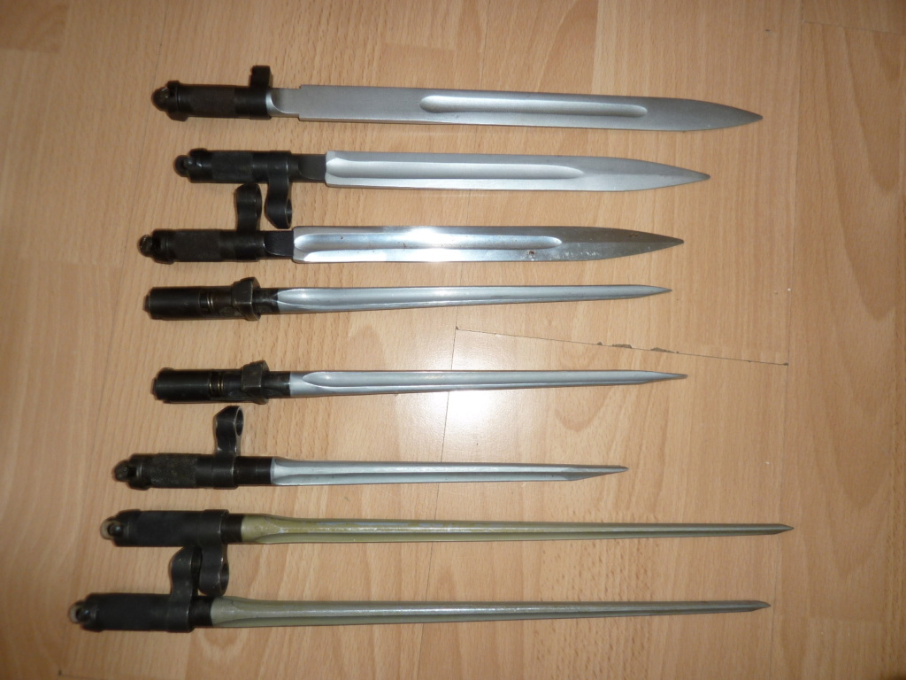 QQ baionnettes SKS Yougoslavie, DDR,  Union Sovietique, RPC P1560714