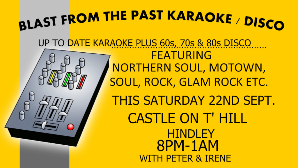 Karaoke disco Hindley 5001710