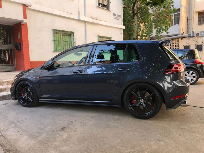 Golf GTI 7.5 Performance Dark Iron Blue Whatsa13