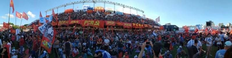 El Partido Comunista Revolucionario llenó All Boys en el festejo por sus 50 años de vida 20181210