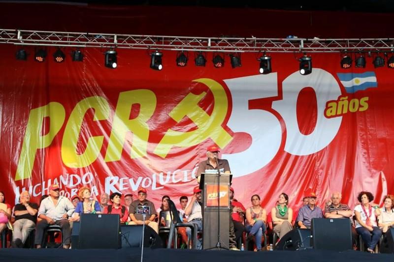 El Partido Comunista Revolucionario llenó All Boys en el festejo por sus 50 años de vida 20181211