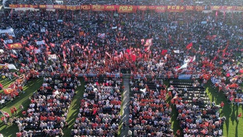 El Partido Comunista Revolucionario llenó All Boys en el festejo por sus 50 años de vida 20181213