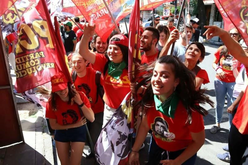 El Partido Comunista Revolucionario llenó All Boys en el festejo por sus 50 años de vida 20181214