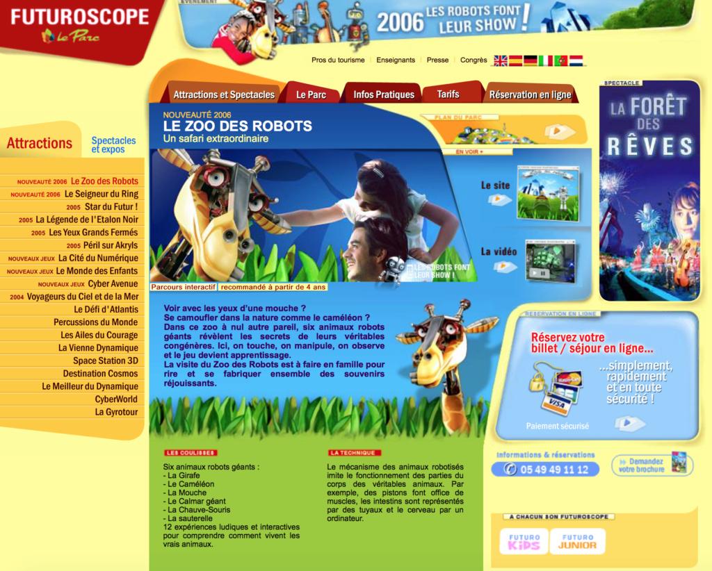 Le Zoo des Robots (Pavillon 360°) · 2006 Le_zoo12