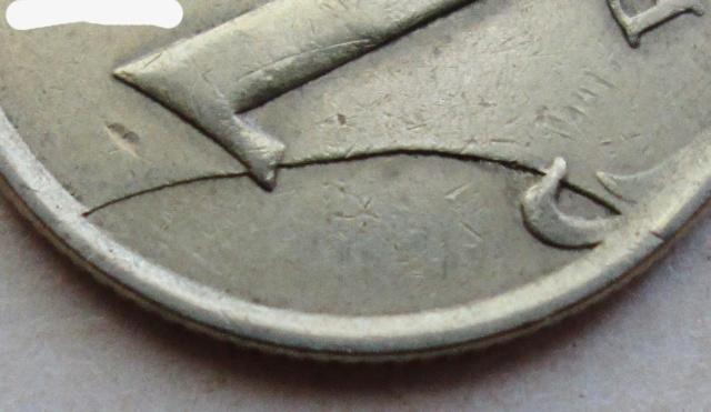 1 рубль 2007ммд - откол штемпеля реверса Photoe23
