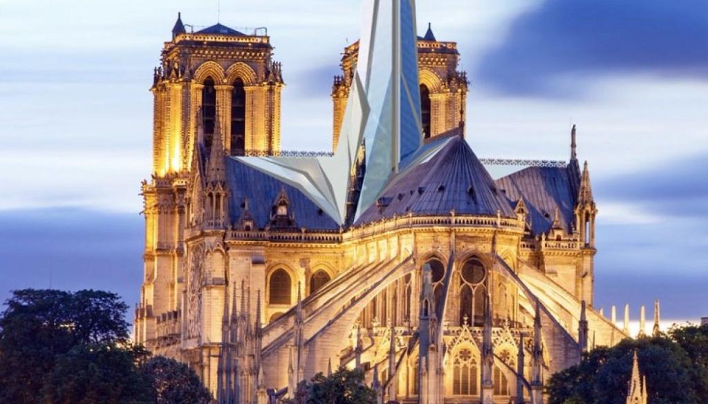 Terrible incendie de Notre Dame de Paris le 15 Avril 2019 au soir - Page 2 D4thlm10