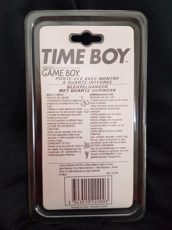 [ESTIM] Nintendo Time Boy Classic sous blister Rigide 16047410