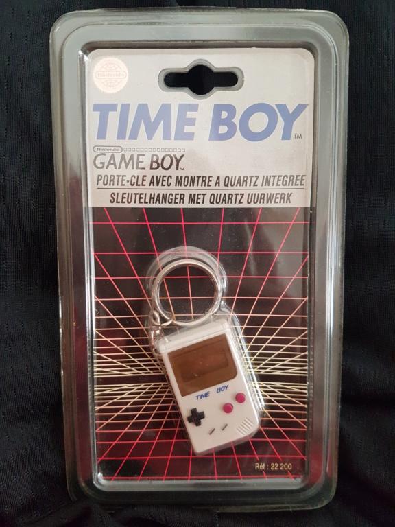 [ESTIM] Nintendo Time Boy Classic sous blister Rigide 16047411