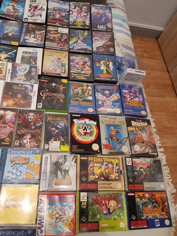 [ESTIM [Lot acheté avec plein d autres jeux] Achat lot 800 euros gros titres NES SNES PS1 XBOX 20191210
