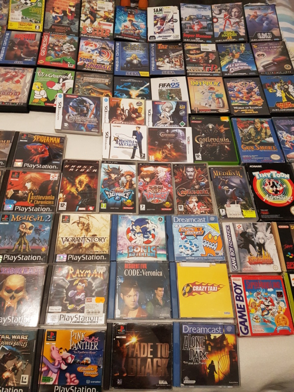 [ESTIM [Lot acheté avec plein d autres jeux] Achat lot 800 euros gros titres NES SNES PS1 XBOX 20191211