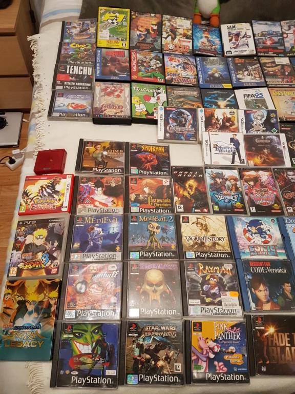 [ESTIM [Lot acheté avec plein d autres jeux] Achat lot 800 euros gros titres NES SNES PS1 XBOX 20191214