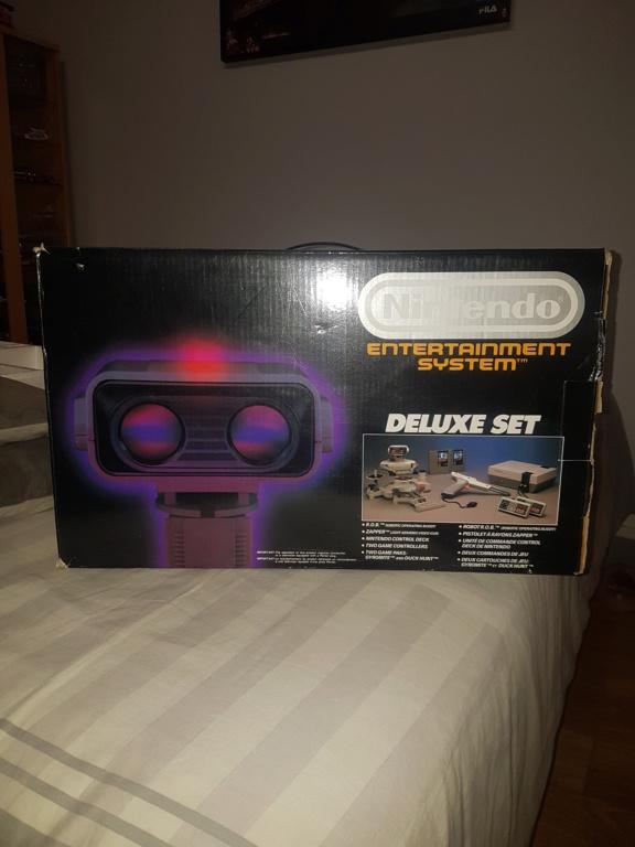 [ACH] Nintendo NES Deluxe Set (avec ROB) 20200624