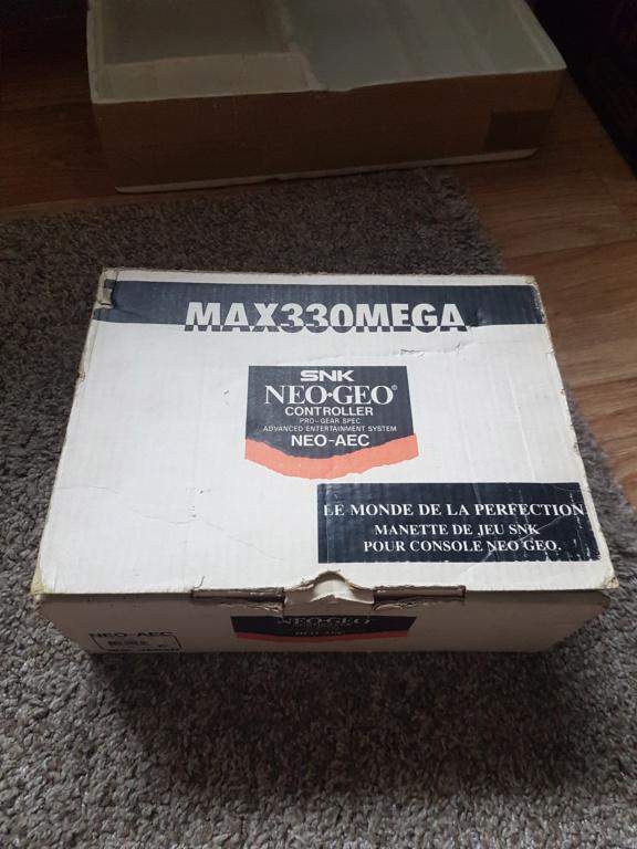 [ESTIM] Neo Geo en boite + Samurai spirit complet + Manette en boite 20200710