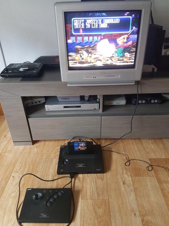 [ESTIM] Neo Geo en boite + Samurai spirit complet + Manette en boite 20200711