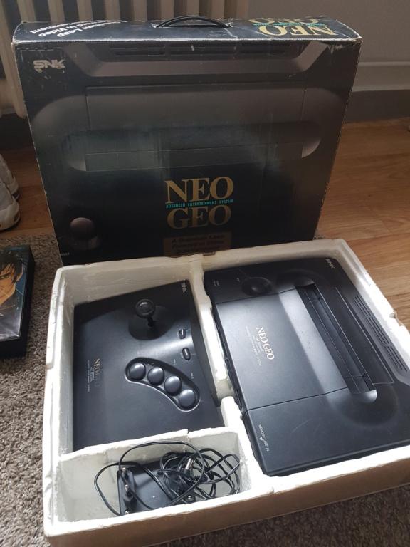 [ESTIM] Neo Geo en boite + Samurai spirit complet + Manette en boite 20200713