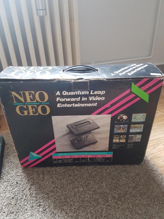 [ESTIM] Neo Geo en boite + Samurai spirit complet + Manette en boite 20200716