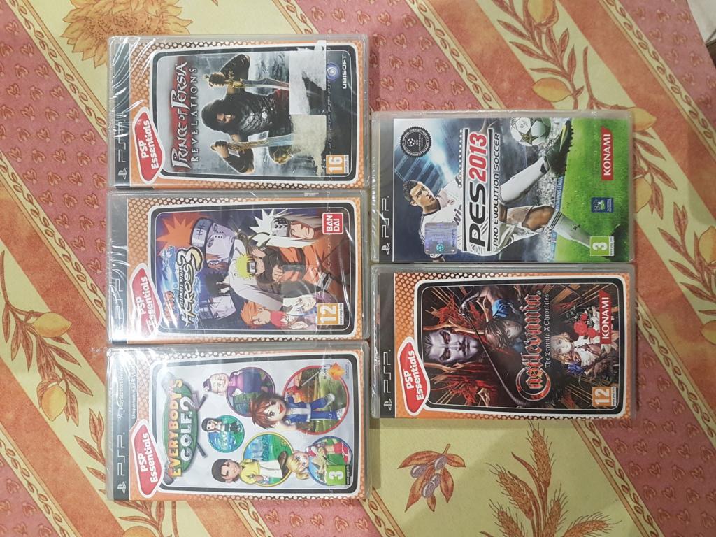 [VENTE] Jeux PS1 et PSP sous Blister + Accessoires 20200821