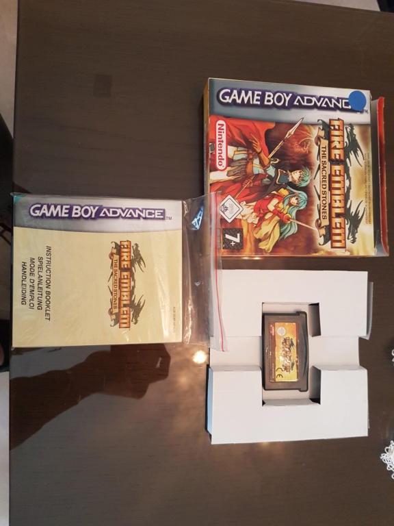 [VENTE] Fire Emblem The Sacred Stones GBA Complet 20210314