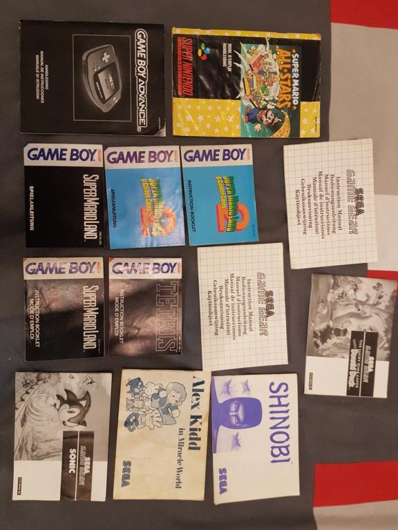 La brocante de l'étang. Bienvenue sur K-2L : Vente NES SNES GB(C,A) N64 GAMECUBE 20210924