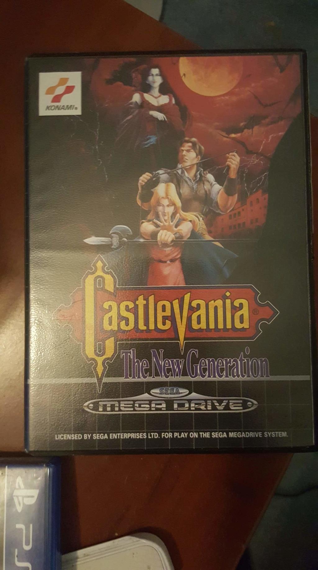 [ESTIM] Castlevania Megadrive Complet Receiv10