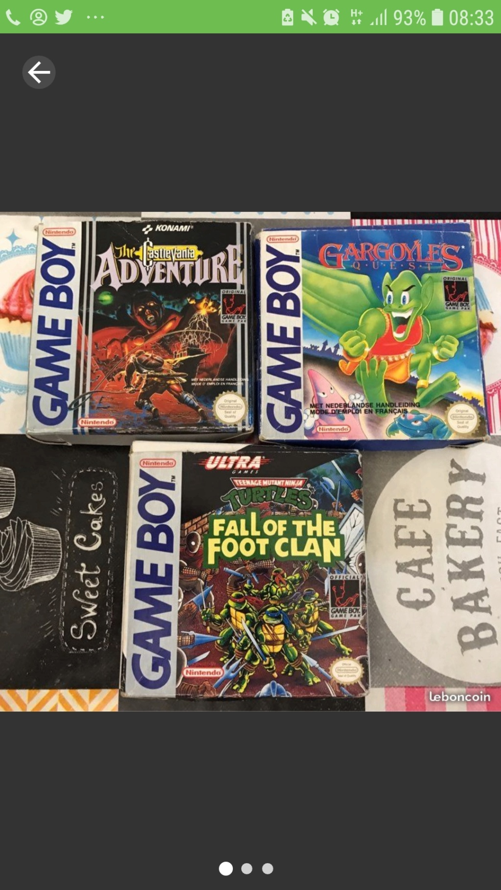 [ESTIM] Jeux Gameboy en boite Castlevania Gargoyle quest et Tortue Ninja Screen26