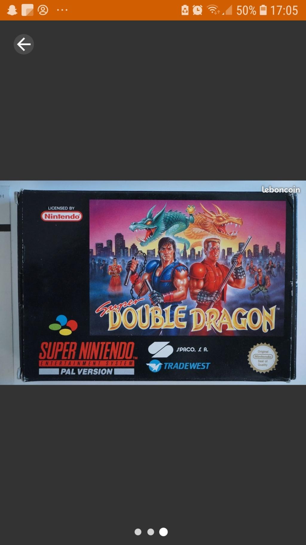 [ESTIM] Super Double Dragon Très bon état Complet Screen48