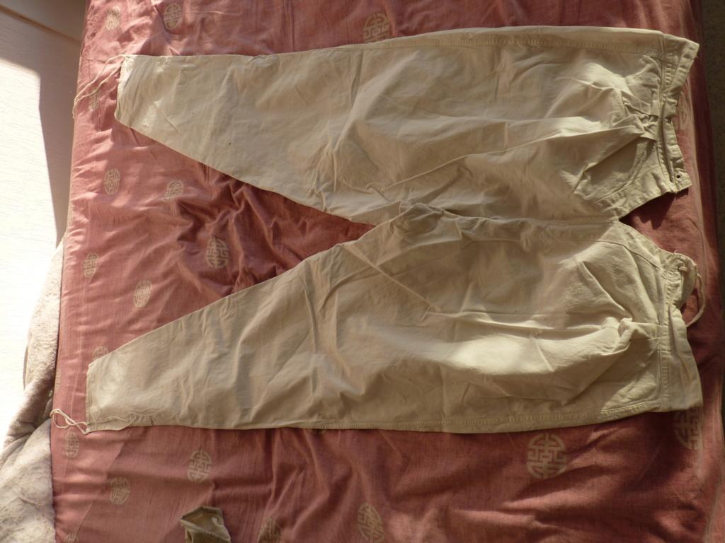authentification pantalon et caleçon FR WW1 P1070124