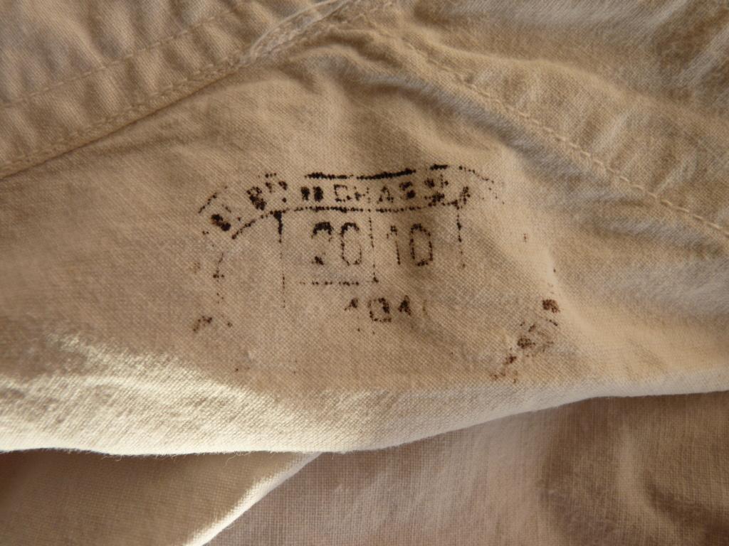 authentification pantalon et caleçon FR WW1 P1070129