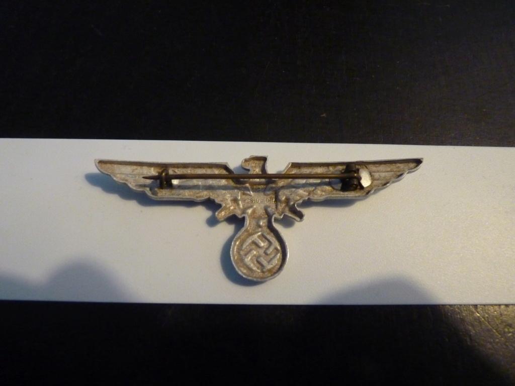 authentification insigne luftwaffe et insigne ancien combattant P1070353