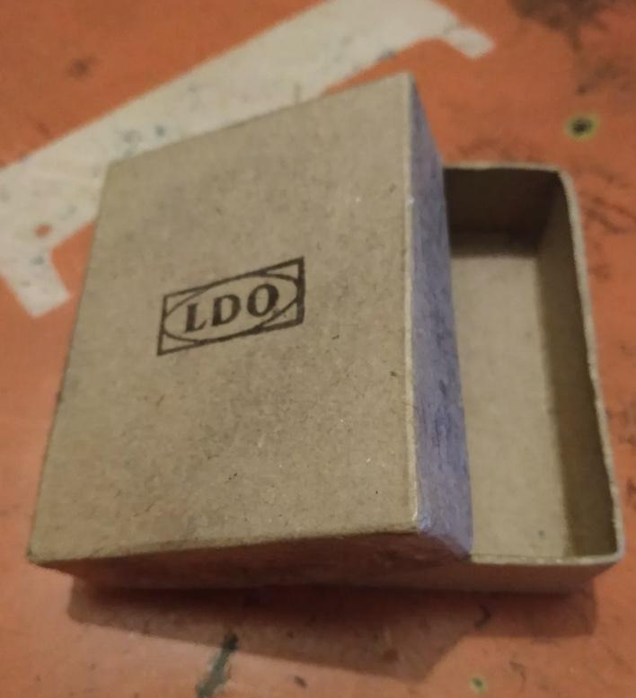Boîte insigne d assaut LDO 0e020210