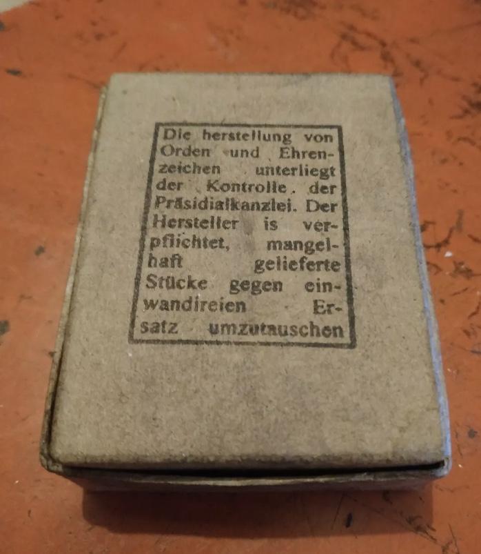 Boîte insigne d assaut LDO 195f3d10