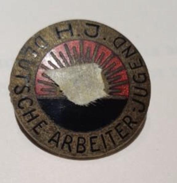 Badge Deutsch arbeiter Jugend Ae9eb010